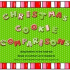Christmas Cookie Number Comparisons (Common Core)