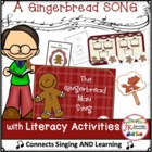 Gingerbread Man Song - Shared Reading Singable {CCSS}
