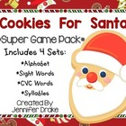 Christmas &#039;Cookies For Santa&#039; Game Pack! 3 Centers/Games A