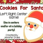 Christmas 'Cookies For Santa' LRC Game!  Great Center, Gam