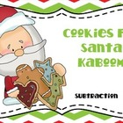 Christmas Cookies Kaboom Subtraction Game