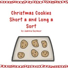 Christmas Cookies Short A and Long A Sort