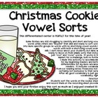 Christmas Cookies {Vowel Sort}