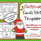 Christmas Creations (Comic Strip Template Set)