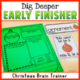 Christmas Creative Thinking Writing - Brain Trainer