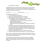 Christmas Creative Writing Gift Idea Common Core