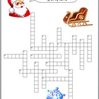 Christmas Crossword featuring YOUR Students&#039; Names