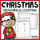 Christmas Cube Roll Math Center Game
