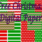 Christmas Digital Paper Pack Freebie