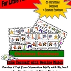 Christmas Dominoes, Printable Game