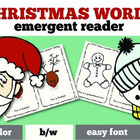 Christmas Emergent Reader: Christmas Words