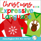 Christmas Expressive Language: Speech &amp; Language Therapy