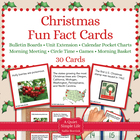 Christmas Fact Cards - Fun Unit Extension Activity, Bullet