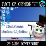 Fact or Opinion - Christmas