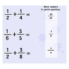 Christmas Fractions - Unlike Denominators