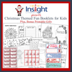 Christmas Fun Booklet for Students