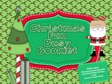 Christmas Fun Busy Booklet {Perfect for Early Finishers}