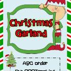 Christmas Garland- ABC Order