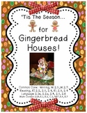 Christmas, Gingerbread, Building, & Grammar Fun!