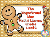 Math and Literacy ~ Gingerbread Man Bundled Unit~ 1st & 2n