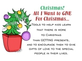 Christmas Giving: All I Want to GIVE For Christmas