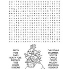 Christmas / Happy Holidays Word Search Puzzle / 2nd Grade