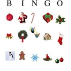Christmas Holiday Bingo Game for Preschool and Kindergarten