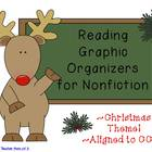 Christmas Holiday Graphic Organizers for Nonfiction Reading CCSS