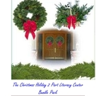 Christmas Holiday Literacy Center two part bundle pack