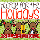Christmas Holiday Literacy Stations and Center Activities