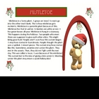 "Christmas Holiday Story ""Mistletoe"" Reading Comprehension"