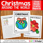Christmas / Holidays Around the World Craftivity Book {Sim