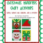 Christmas Hundreds Chart Hidden Picture Activities for Mat