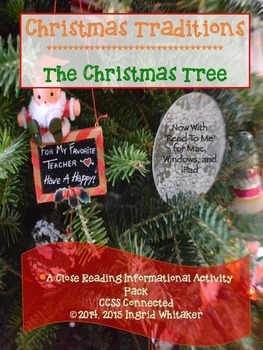 Christmas Reading Informational Text and Activities