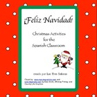 Christmas K-3 Spanish Activities/ Navidad