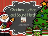 Christmas Letterand Sound Match
