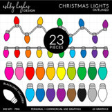 Christmas Lights {Graphics for Commercial Use}