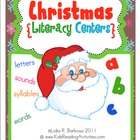 Christmas Literacy Centers (English)