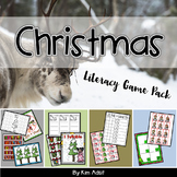 Christmas Literacy Game Pack