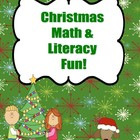 Christmas Literacy & Math Activities