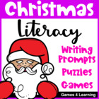 Christmas Literacy Puzzles and Games