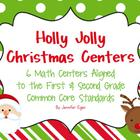 Christmas Math Centers Aligned to the Common Core