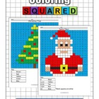 Christmas Math Coloring