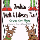 Christmas Math & Literacy Fun
