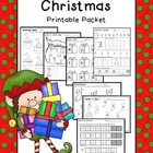 Christmas Math &amp; Literacy Printable Packet