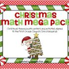Christmas Math Mega Pack (Christmas Themed Math Centers fo
