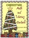 Christmas Math and Literacy Centers with Tic-Tac-Toe Rubric