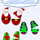 Christmas Matrioskas clipart