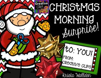 Christmas Morning Surprise: Limited Edition Set {Creative Clips Digital Clipart}