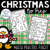 Christmas NO PREP Math (3rd Grade)